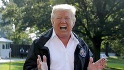 Trump Tells Hurricane Florence Survivor 'At Least You Got A Nice Boat Out Of The