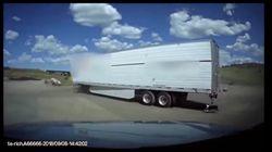 Trucker vergisst, Hund von Laster loszubinden – dann hört er