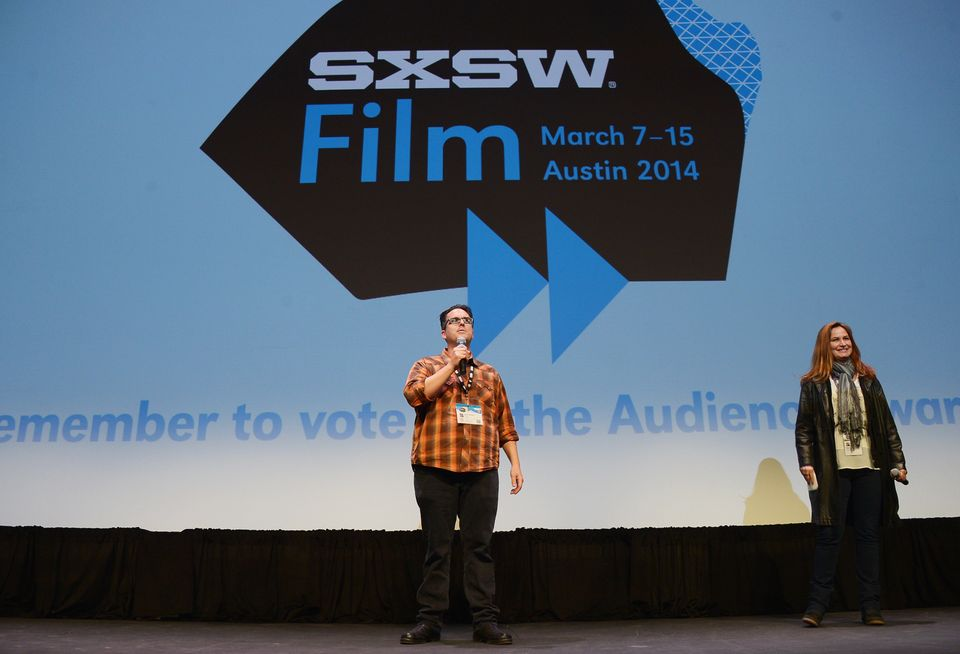 AUSTIN, TX - MARCH 09:  Director Alex Johnson takes part in a Q&A following the 'Two Step' premiere during the 2014 SXSW Musi