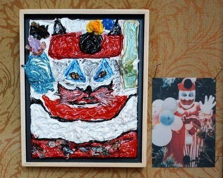"John Wayne Gacy, also known as the ""killer clown"" because of his penchant to dress up as ""Pogo the Clown"" at fundraising even"
