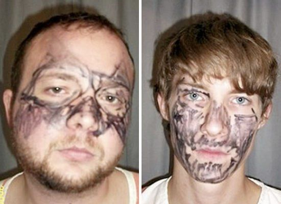 "What these two Tennessee would-be robbers taught us by trying to ""disguise"" themselves by covering their face in black magic"