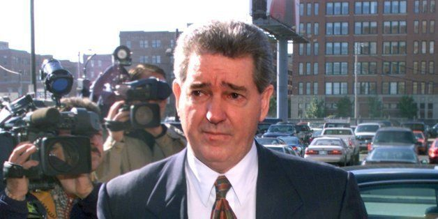 BOSTON - OCTOBER 19: Former FBI agent John Connolly walks into Boston Federal Court to face new charges in his involvement wi