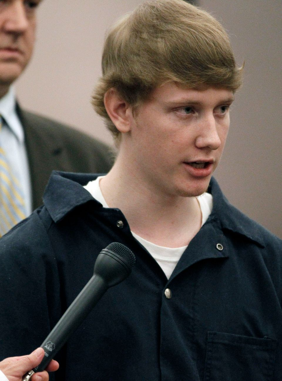 FILE - In this March 21, 2012 file photo, Deryl Dedmon, 19, charged with capital murder in the June 2011 death of 47-year-old