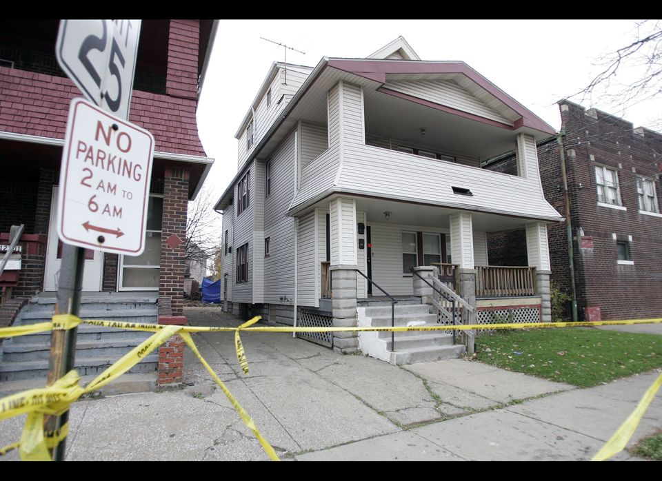 The home of Anthony Sowell seen on Nov. 4, 2009, in Cleveland. Sowell was convicted on July 22, 2011, of murdering 11 women w