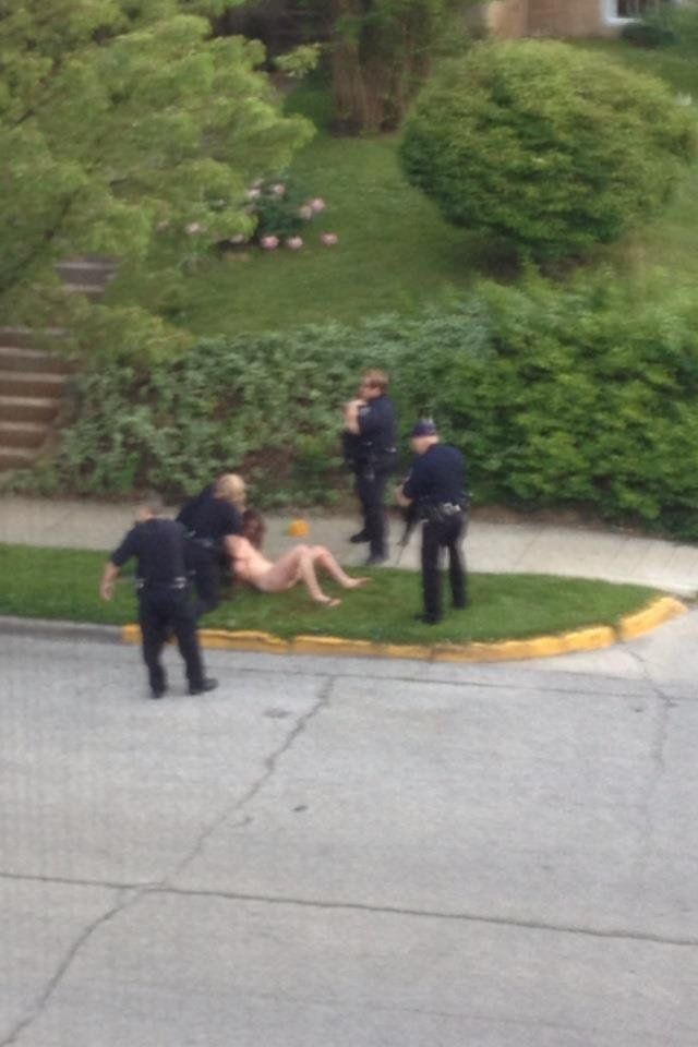 Naked man shot by police pics 17