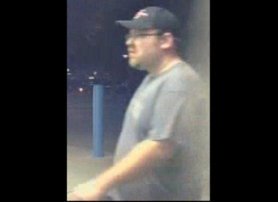 The Titusville Police Department in Florida released a series of surveillance images to catch Robert Walyus, accused of expos