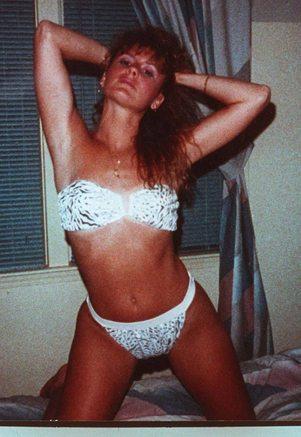 This photo of Pamela Smart was used as evidence in her murder conspiracy trial that ended in her being found guilty and sente