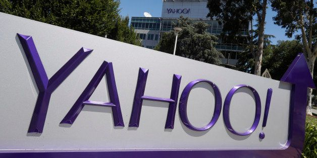 A Yahoo sign is seen at the company's headquarters Tuesday, July 19, 2016, in Sunnyvale, Calif. (AP Photo/Marcio Jose Sanchez