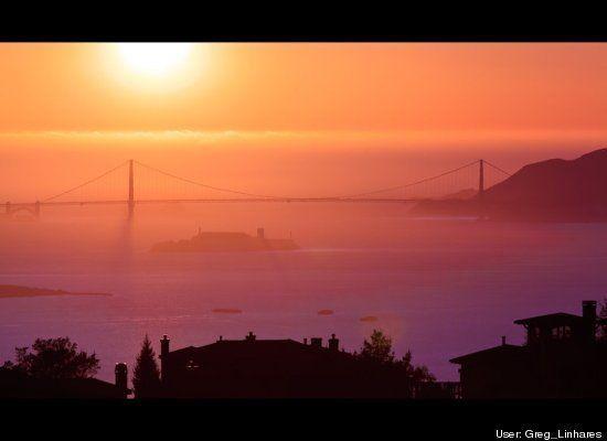 Sideshow Stunt Stops Traffic On San Francisco's Golden Gate Bridge