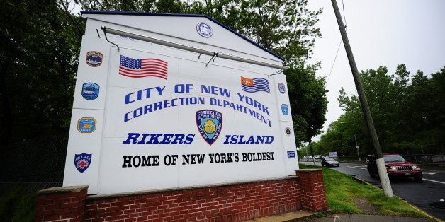 A view of the entrance to Rikers Island penitentiary complex where IMF head Dominique Strauss-Kahn is being held, in New York