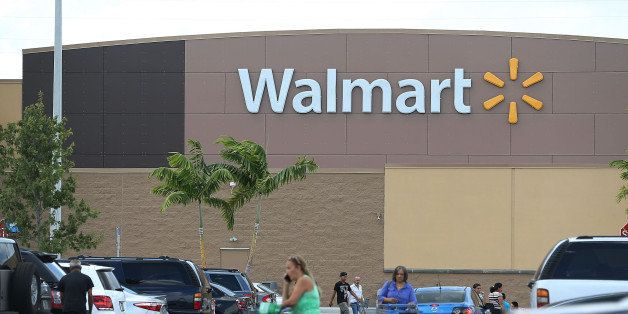 MIAMI, FL - AUGUST 18:  A Walmart store is seen on August 18, 2015 in Miami, Florida. Walmart announced today that earnings f
