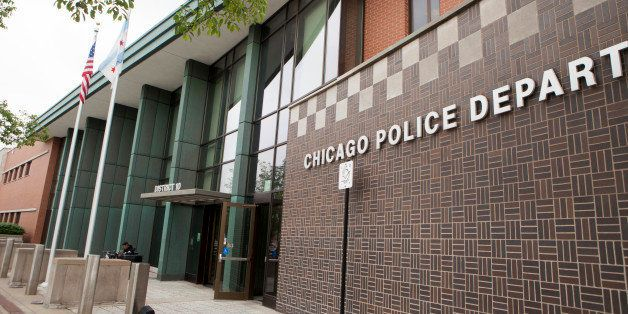 CHICAGO, IL - JUNE 11: An exterior view shows the Chicago Police Department headquarters in the high-crime 10th District, on
