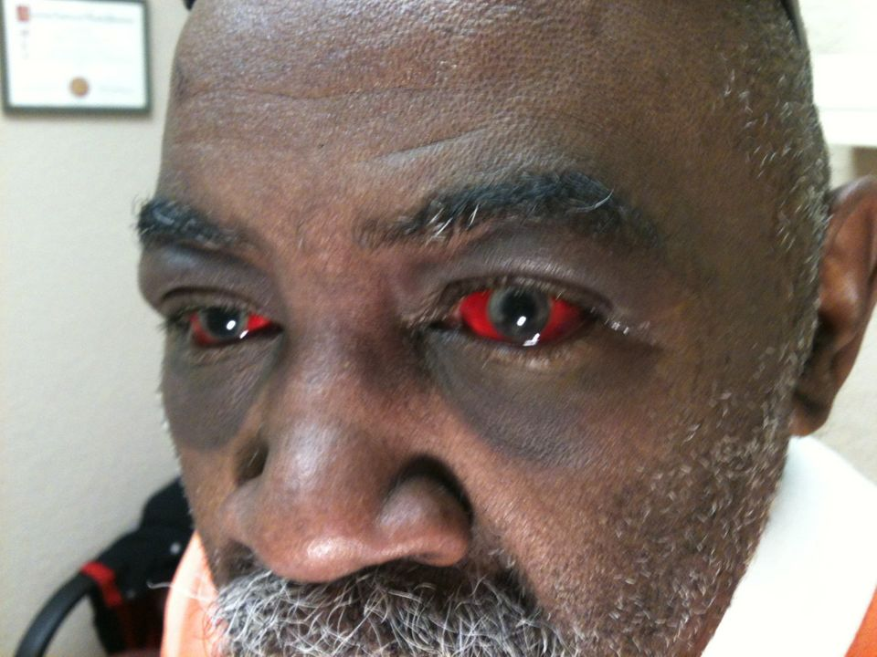 A photo taken on Jan. 6, 2014, of Pearl Pearson. The deaf Oklahoma man was allegedly assaulted by police in Oklahoma City, on