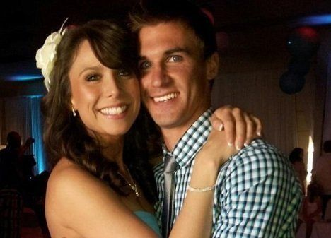An undated photo of Collette Moreno and her fiance, Jesse Arcobasso.