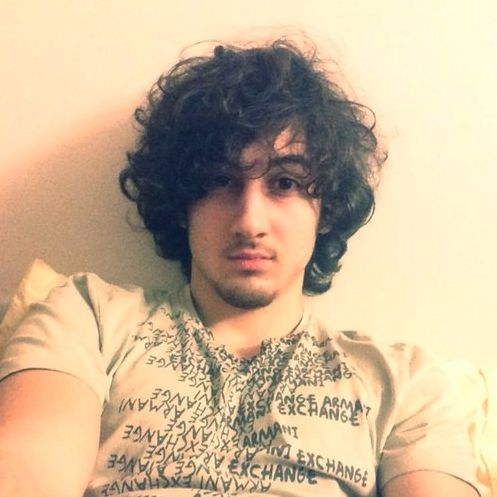 CNN confirms this was a former twitter profile picture of the suspected Boston Marathon bomber.