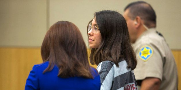 Jodi Arias stands next to her attorney, Jennifer Willmott,  during the sentencing phase at her trial at Maricopa County Super