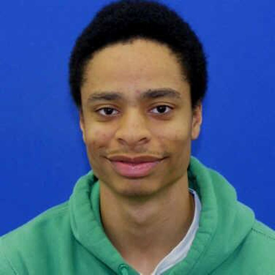 This photo released by the Howard County Police shows shooting suspect Darion Marcus Aguilar, 19, of College Park, MD. Aguila