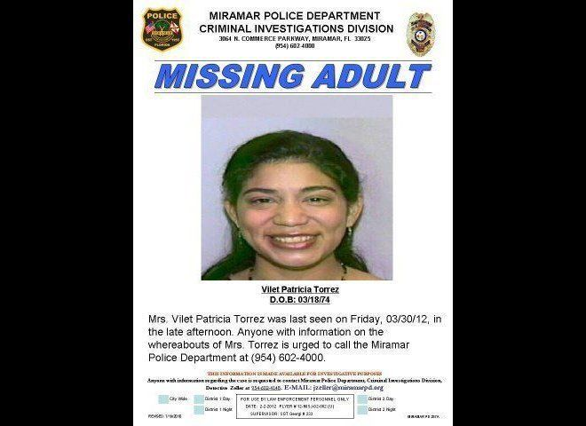Vilet Patricia Torrez, 38, has been missing since Friday, March 30, 2012.