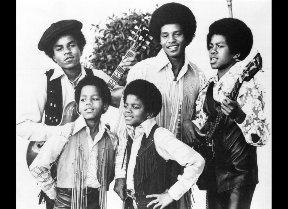 Michael Jackson as part of the Jackson Five.