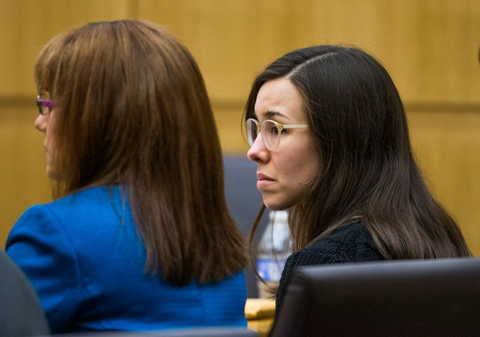 Jodi Arias hears a hung jury verdict in the sentencing phase retrial, Thursday, March 5, 2015 in Maricopa County Superior Cou