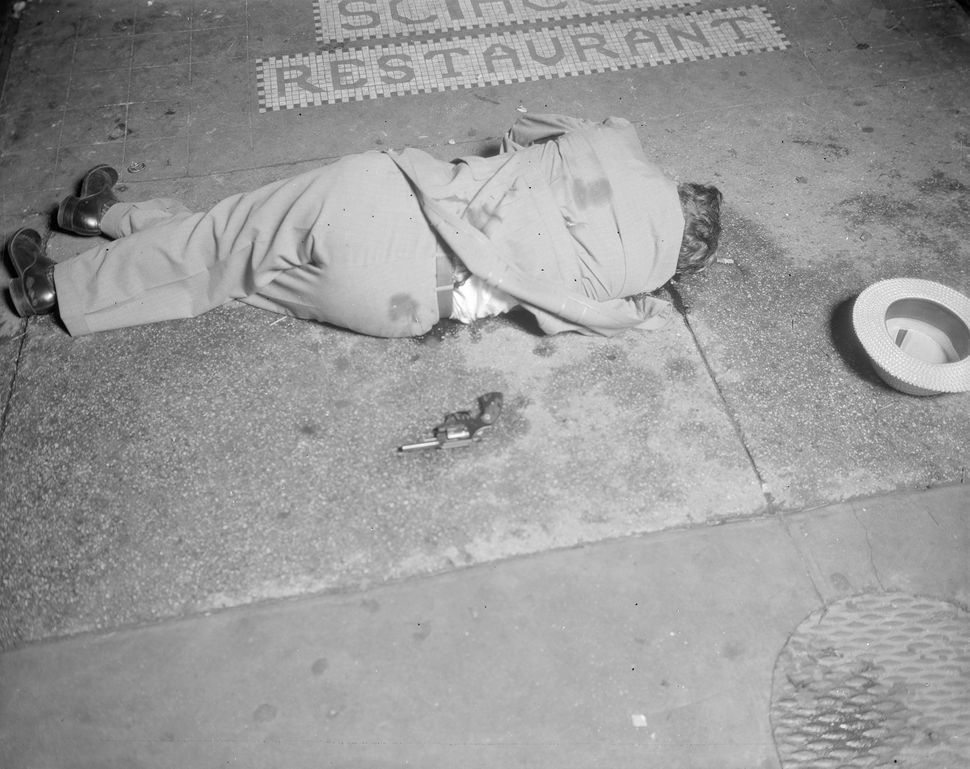 Photo of murder victim Dominick Didato on Elizabeth Street in Manhattan in 1936.