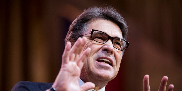 UNITED STATES - MARCH 7: Texas Gov. Rick Perry speaks during the American Conservative Union's Conservative Political Action