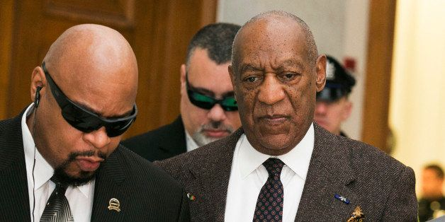 Actor and comedian Bill Cosby arrives for a court appearance Wednesday, Feb. 3, 2016, in Norristown, Pa.  Cosby was arrested