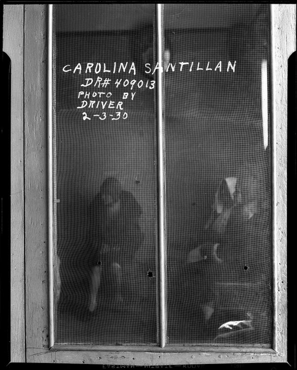 총알이 뚫고 나간 자리  Date: 2/3/1930