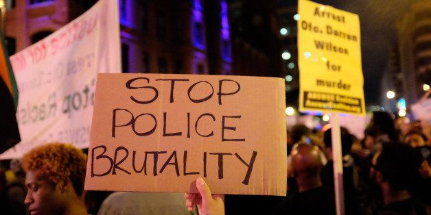 Ferguson support rally   Chinatown - Washington, DC