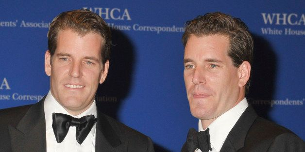 WASHINGTON, DC - MAY 03: Cameron Winklevoss and Tyler Winklevoss attend the 100th Annual White House Correspondents' Associat