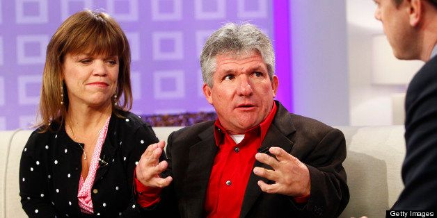 TODAY -- Pictured: (l-r) Amy Roloff and Matt Roloff appear on NBC News' 'Today' show  (Photo by Peter Kramer/NBC/NBCU Photo B