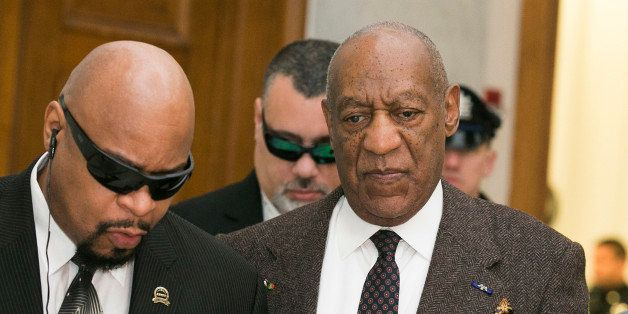 NORRISTOWN, PA - FEBRUARY 03:  Bill Cosby arrives for the second day of hearings at the Montgomery County Courthouse February