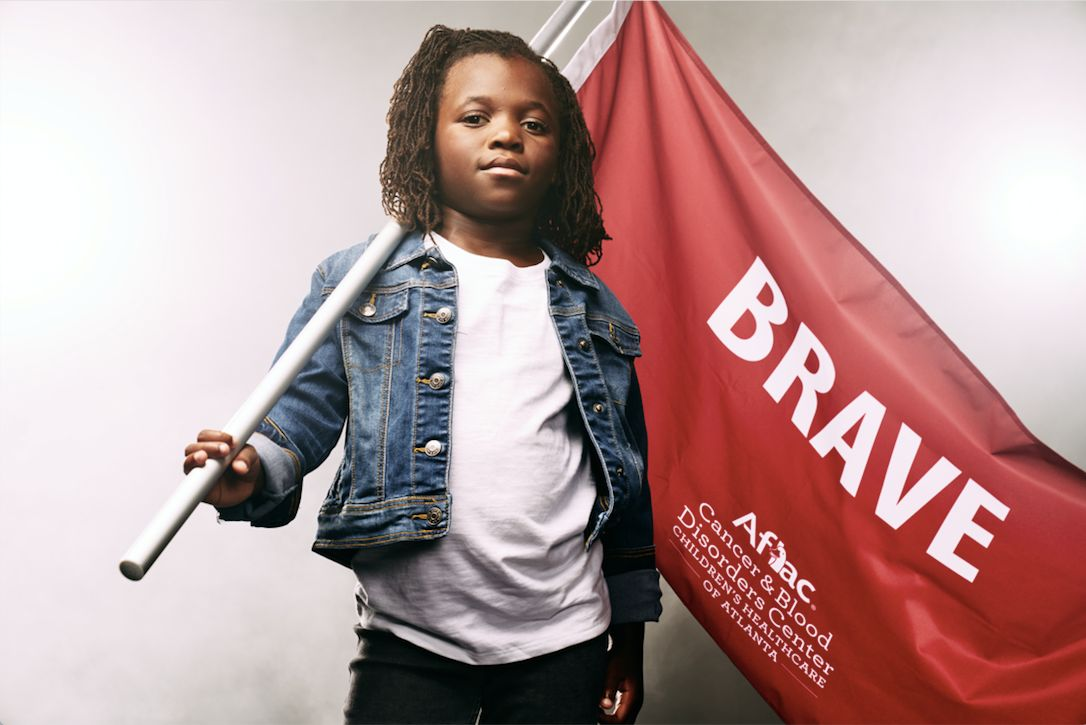 These Fierce Photos Highlight Kids Battling Cancer And Sickle Cell