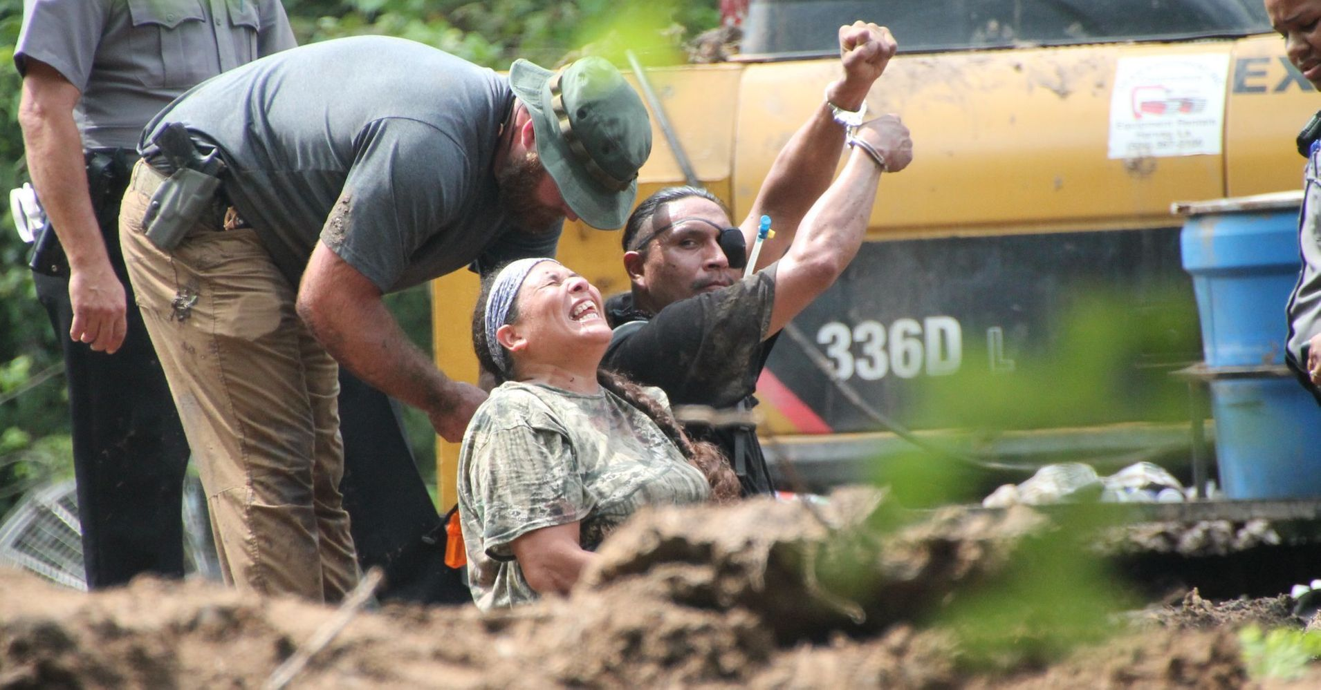 Bayou Bridge Environmental Activists: 'Anti-Protes...