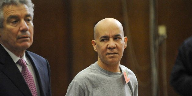 FILE - In this Nov. 15, 2012 file photo, Pedro Hernandez, right, appears in Manhattan criminal court with his attorney, Harve