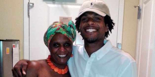 FILE - This undated file photo provided by the family of John Crawford III shows Crawford, right, with his mother, Tressa She