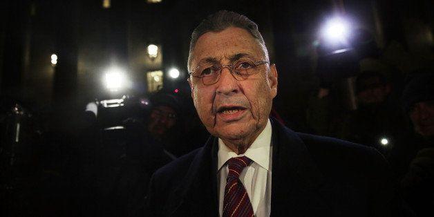 NEW YORK, NY - NOVEMBER 30:  Former New York Assembly Speaker Sheldon Silver leaves a federal court in Lower Manhattan on Nov