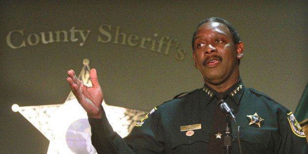 Orange County Sheriff Jerry Demings addresses the media during a press conference about the Casey Anthony trial in Orlando, F