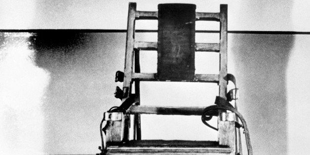 Undated picture of the electric chair in which Julius and Ethel Rosenberg were executed on June 19, 1953, in the Sing Sing pr
