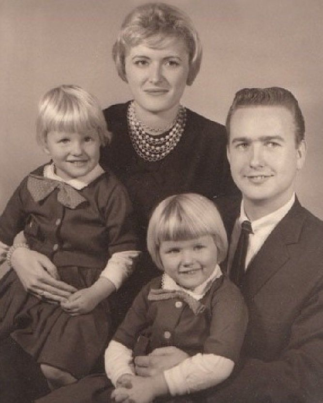 From left: Debbie, Marcia, Vicky and James.