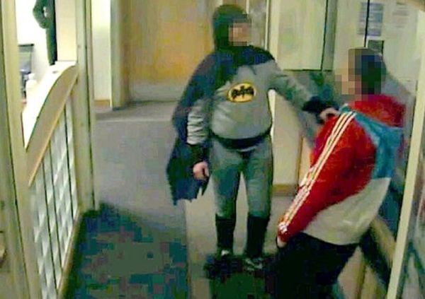 The United Kingdom had a crime fighting superhero named Stan Worby who, in April 2013, hand delivered a wanted man to police