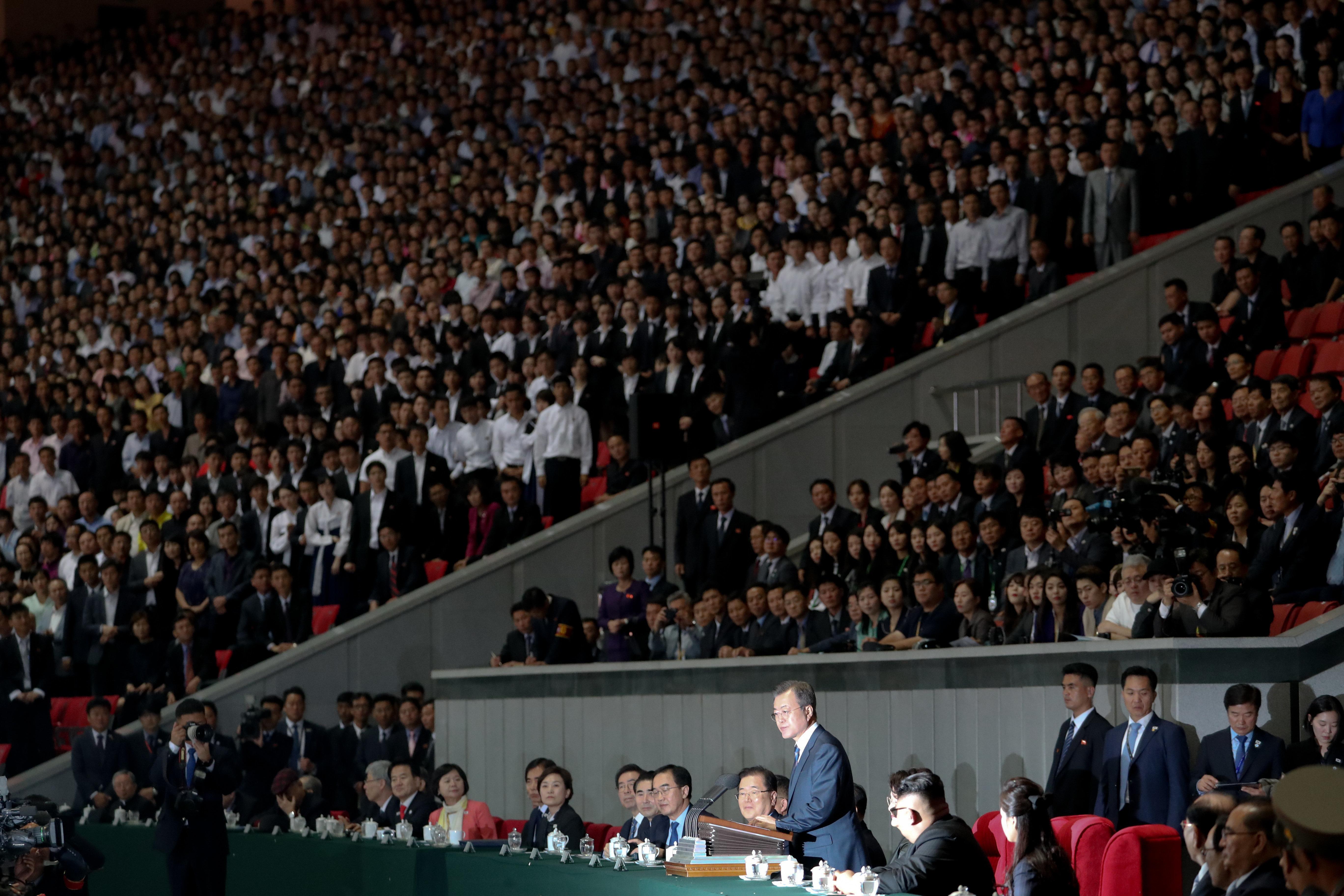 파격·초유로 점철된 평양 2박3일 압축한 이낙연 총리의