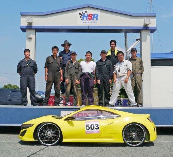 일본 고등학생들이 만든 '연비 291km' 자동차는 어떻게