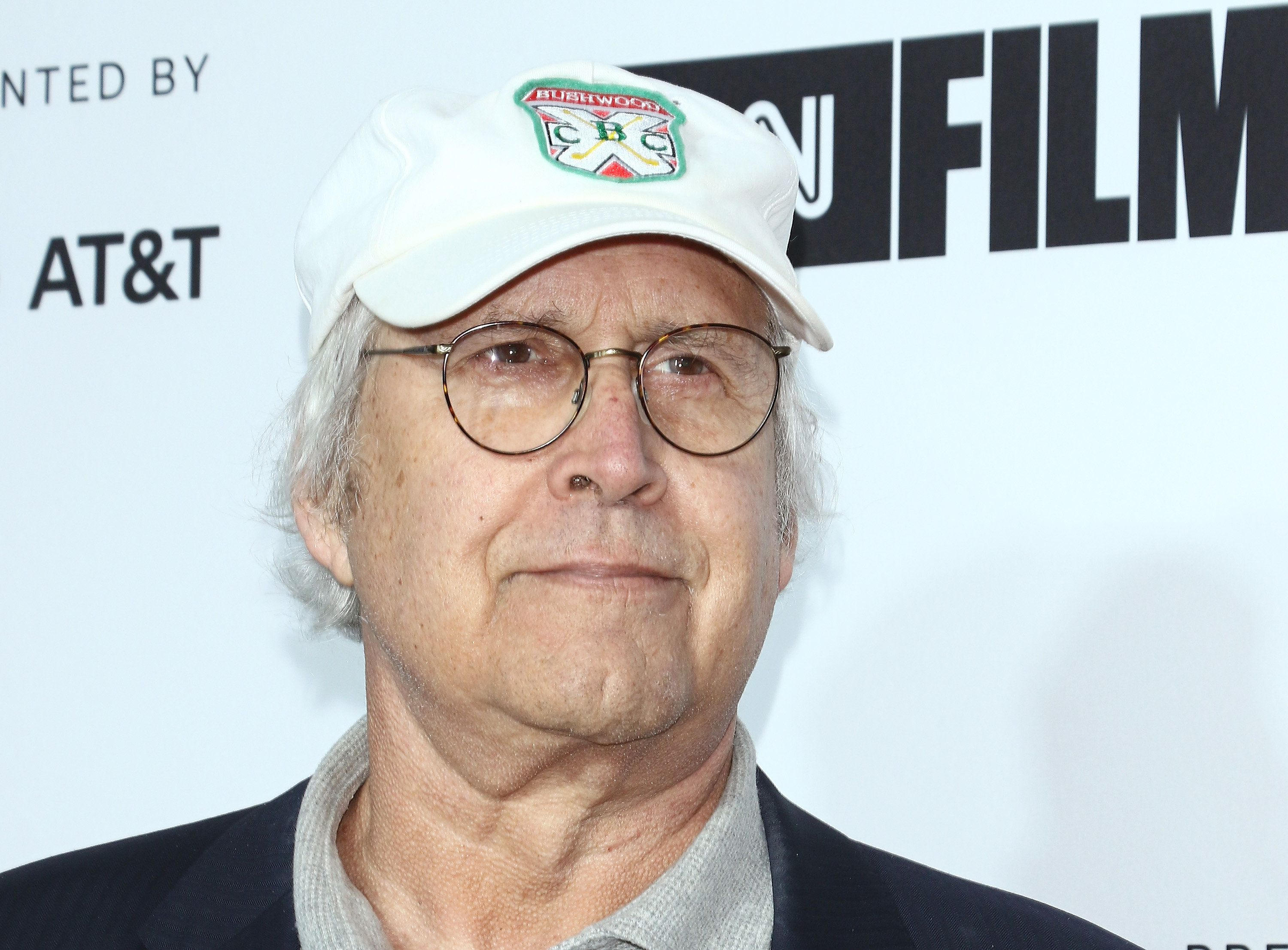 NEW YORK, NY - APRIL 18:  Actor Chevy Chase attends the 2018 Tribeca Film Festival opening night premiere of 'Love, Gilda' at Beacon Theatre on April 18, 2018 in New York City.  (Photo by Jim Spellman/WireImage)