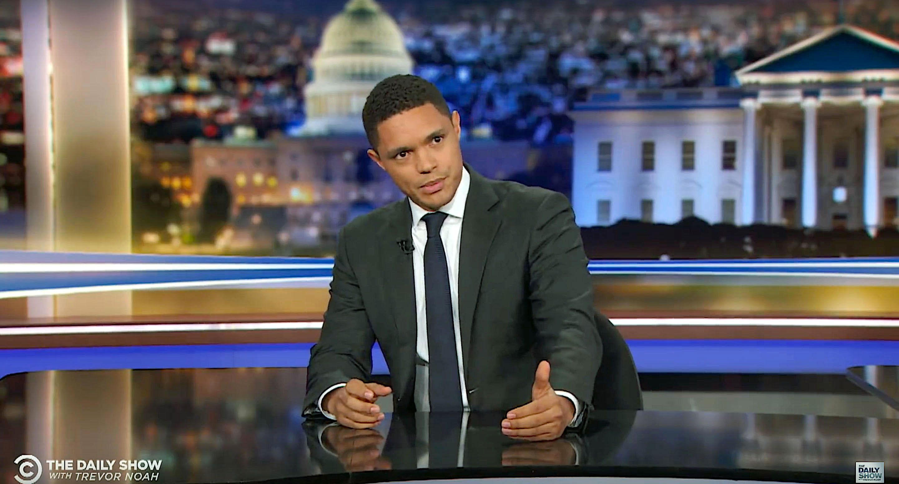 Trevor Noah of The Daily Show disputes Sen Orrin Hatchs defense of Supreme Court nominee Brett Kavanaugh