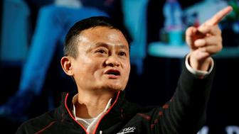 Jack Ma, founder of Chinese e-commerce giant Alibaba, speaks with students during an event at the Tel Aviv University, Israel May 3, 2018. REUTERS/Amir Cohen