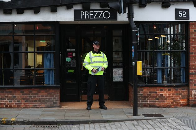Police were called to Prezzo on