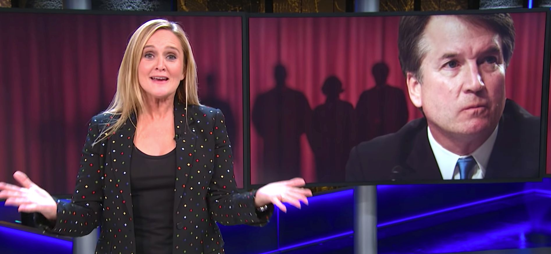 Samantha Bee Issues Brutal Reminder About Rape To Kavanaugh's