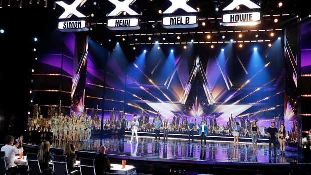 AMERICA'S GOT TALENT -- 'Live Finale Results' Episode 1322 -- Pictured: (l-r) Zurcaroh, Damiel Emmet, Brian King Joseph, Micheal Ketterer, Courtney Hadwin, Samuel J. Comroe, Shin Lim, Vicki Barbolak, Glennis Grace, Duo Transcend -- (Photo by: Trae Patton/NBC/NBCU Photo Bank via Getty Images)