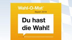 Wahl-O-Mat für die Bayern-Wahl 2018 ist online – was ihr wissen